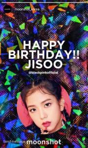 Happy Birthday Jisoo from Moonshot