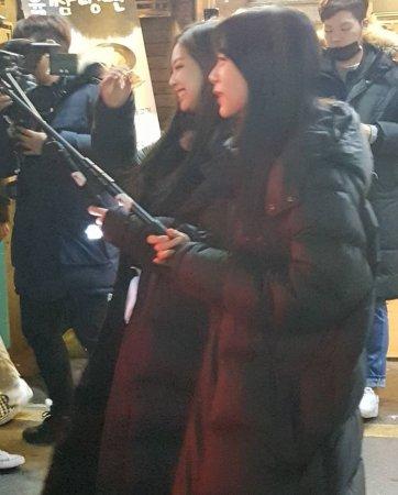 Blackpink Jisoo Jennie Filming Blackpink TV
