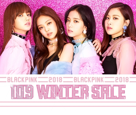 Blackpink Shibuya 109 Winter Sale Collaboration