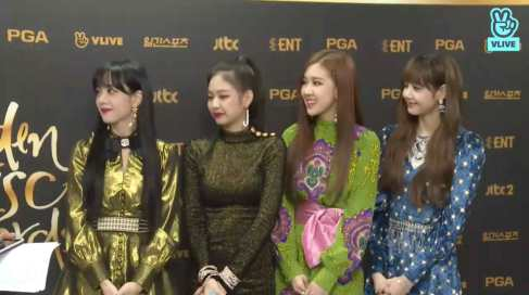 Blackpink Golden Disc Awards 2018 Backstage