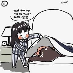 Blackpink Jisoo Rose Short Comic 11