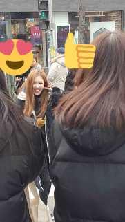 Blackpink Rose Spotted in Hongdae