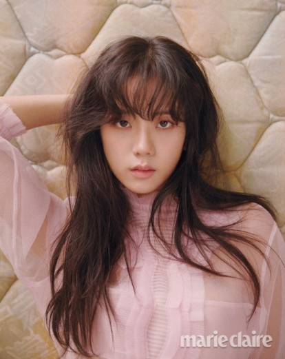 Blackpink Jisoo Marie Claire Magazine March 2018