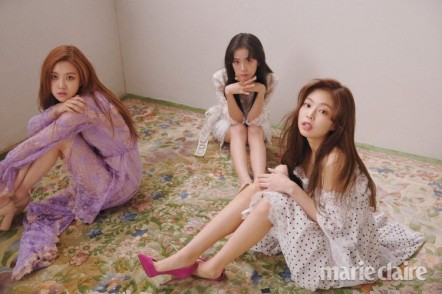 Blackpink Jisoo Rose Jennie Marie Claire Magazine March 2018