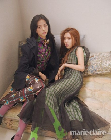Blackpink Jisoo Rose Marie Claire Magazine March 2018