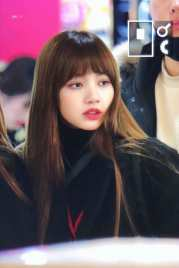 Blackpink Lisa Winter Airport Style From Jeju Island