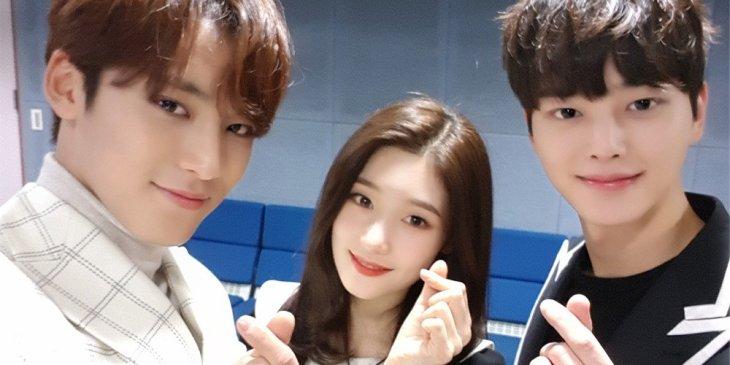 The New Inkigayo MC after Jisoo Jinyoung Doyoung