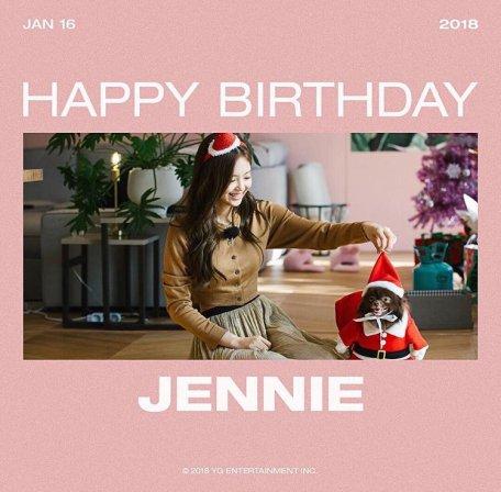 Blackpink Jennie Birthday January 16 2018