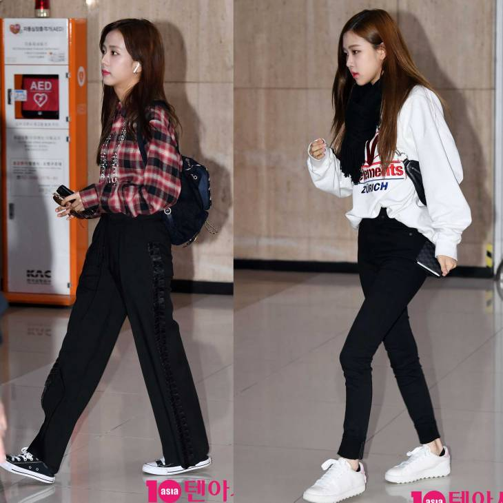 Blackpink Jisoo Rose airport fashion March 12, 2018