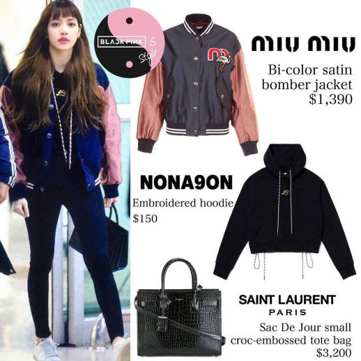 Blackpink Lisa Just Arrived At Gmp Airport Wearing Her