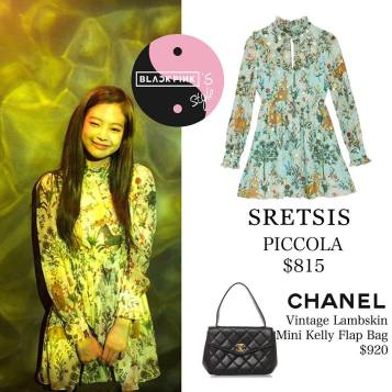 Blackpink Jennie Instagram Fashion