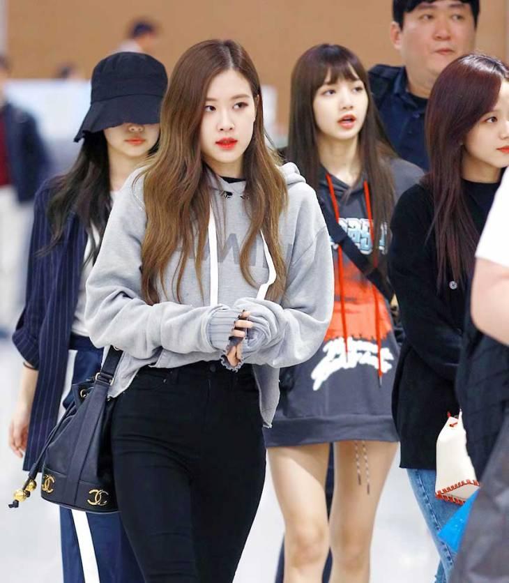 Blackpink Airport Fashion 5 April 2018 Incheon