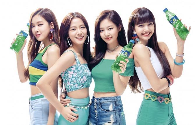 BLACKPINK Jisoo Jennie Rose Lisa Sprite Commercial